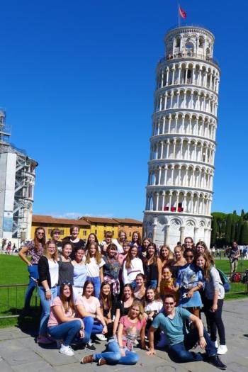 Abschlussfahrt Pisa